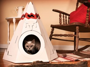 The_Native_American_Teepee_cat_house_1_Loyal_Luxe_T